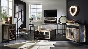 Vintage Industrial Möbel : sideboard porto vintage industrial style ~ Markanthonyermac.com Haus und Dekorationen