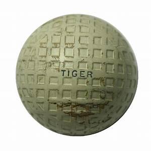 Lot Detail - 'Tiger' Mesh Vintage Golf Ball