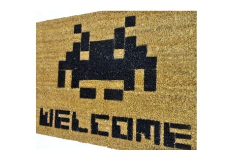 space invaders doormat 1000 ideas about space invaders on person to