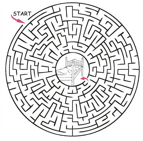 Free Printable Mazes For Adults High Quality  Loving Printable