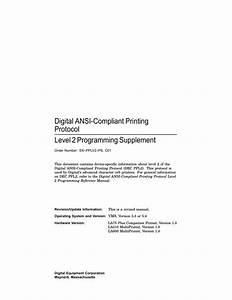 Digital Equipment Corporation La600 User Guide