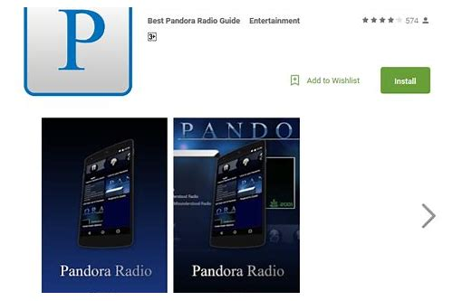 download music from pandora app