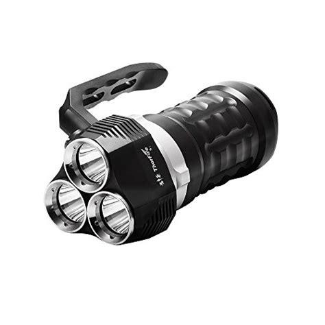 thorfire scuba diving flashlight  lumen    led