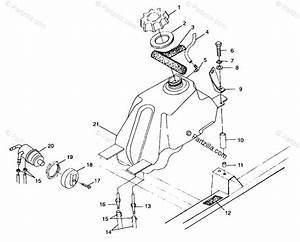 Polaris Atv 1999 Oem Parts Diagram For Fuel Tank A99ch33ia
