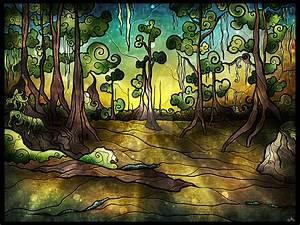 Alligator Swamp by mandiemanzano on DeviantArt