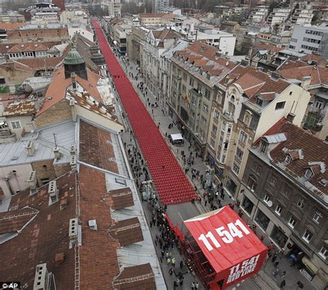 siege sarajevo bosnia remembers 11 541 empty chairs laid out in sarajevo
