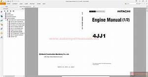 Hitachi Engine Manual 4jj1  1 2