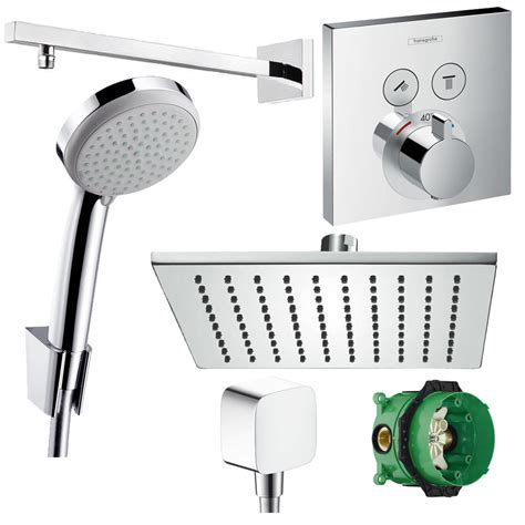 unterputz duscharmatur set hansgrohe duscharmatur set unterputz thermostat select 300
