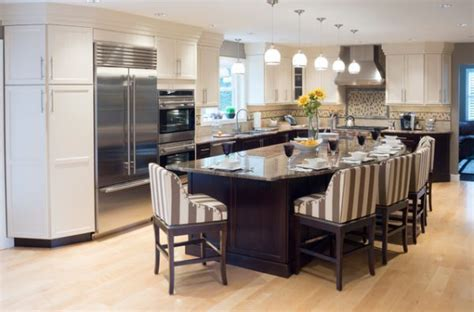 kitchen island as dining table 37 multifunctional kitchen islands with seating kitchens 8135