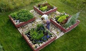 Beautiful Vegetable Garden Layouts   myideasbedroom.com
