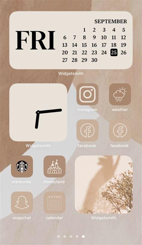ios 14 homescreen aesthetic in 2020 iphone photo app