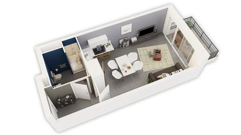logiciel amenagement cuisine plan de maison en 3d gratuit 7 plan appartement 30m2 studio survl com