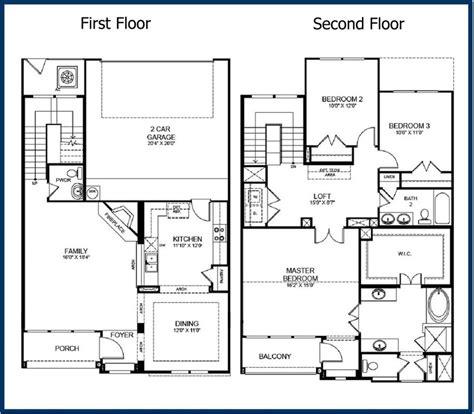 story modern house floor plans  home plans
