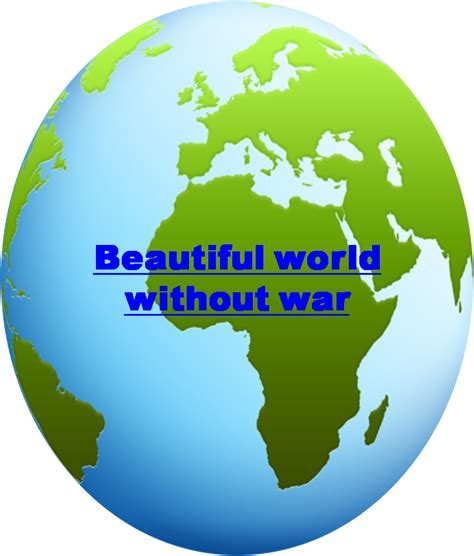 Beautiful World Without War