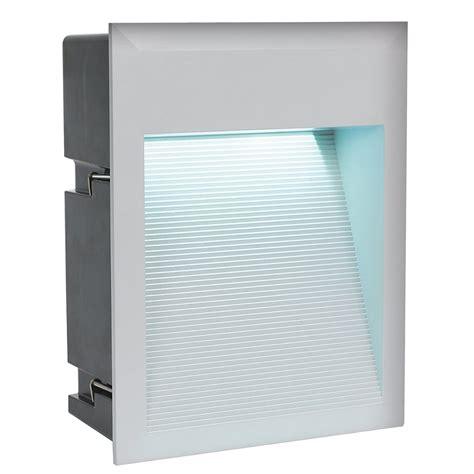 eglo 95234 zimba exterior ip65 led recessed wall light