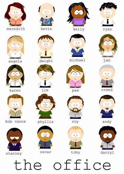 Office Park South Cartoon Characters Funny Memes