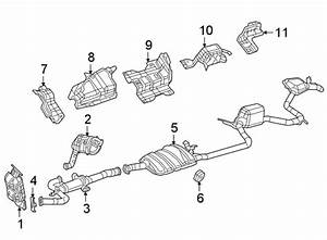 Chrysler Pacifica Gasket  Pipe  Exhaust  3 6 Liter  W