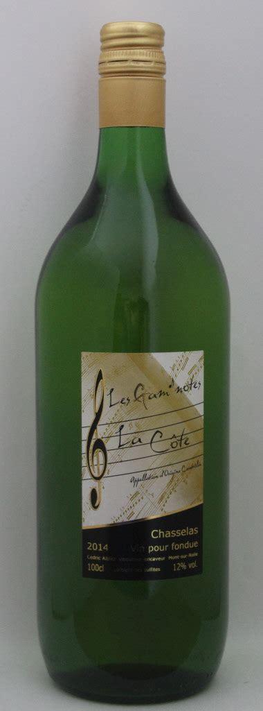 vin blanc pour cuisine chasselas de mont sur rolle pour fondue et cuisine 1 litre