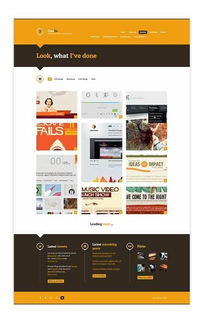 Web Examples Inspiration Portfolio Theultralinx Behance Website