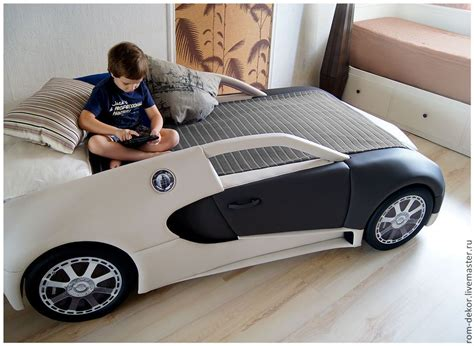 61 likes · 1 talking about this. Купить Детская кровать-автомобиль BugaTTi Veyron. Кожа. - детская кровать, кровать для мальчика ...