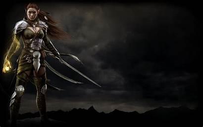 Elf Elder Scrolls Background Steam Teso Wallpapers