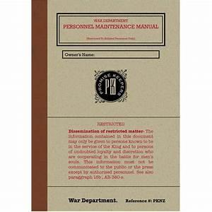 Pk Study Guide  U2013 Personnel Maintenance Manual  U2013 Promise