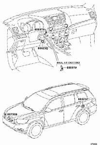 Toyota Highlander Instrument Panel Air Duct