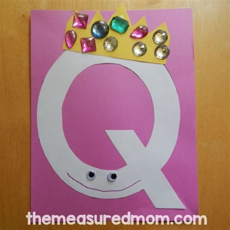 Letter Q activities for preschool - The Measured Mom