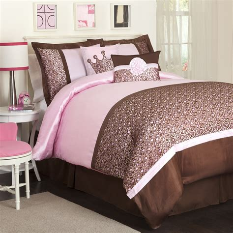 Pink And Brown Bedding Webnuggetzcom