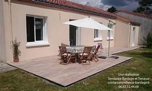 Terrasse Sur Plot : terrasse dalles sur plots en pays de la loire 44 85 49 ~ Melissatoandfro.com Idées de Décoration