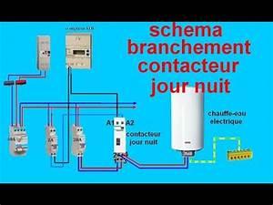 Contacteur Jour Nuit : schema electrique branchemant cablage contacteur jour nuit ~ Dallasstarsshop.com Idées de Décoration