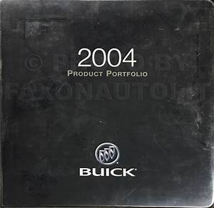 2004 Buick Regal And Century Repair Shop Manual Original 3