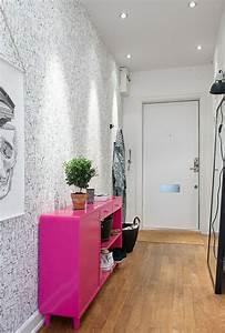 Tapeten Für Den Flur : 1001 tapeten flur ideen zum erstaunen und begeistern ~ Watch28wear.com Haus und Dekorationen