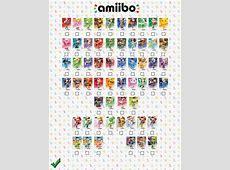 Amiibo Checklist Video Games Amino