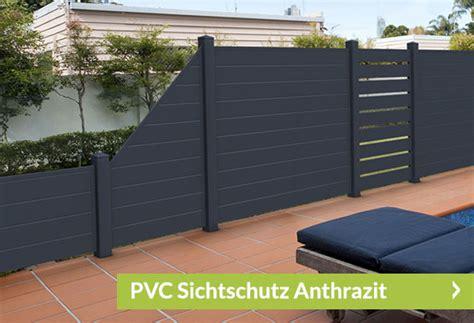 Sichtschutz Garten Anthrazit by Sichtschutz Anthrazit Aus Kunststoff Sichtschutzzaun Shop De