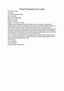 cover letter for project proposal example drureport831 With covering letter for project report