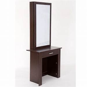 Coiffeuse Moderne Avec Miroir : westwood coiffeuse moderne en bois maquilage table avec coulissant miroir dt04 ebay ~ Teatrodelosmanantiales.com Idées de Décoration