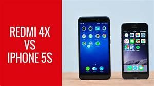 Speedtest Xiaomi Redmi 4x Vs Iphone 5s