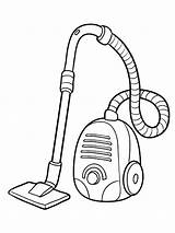 Vacuum Coloring Cleaner Pages Printable Mycoloring sketch template