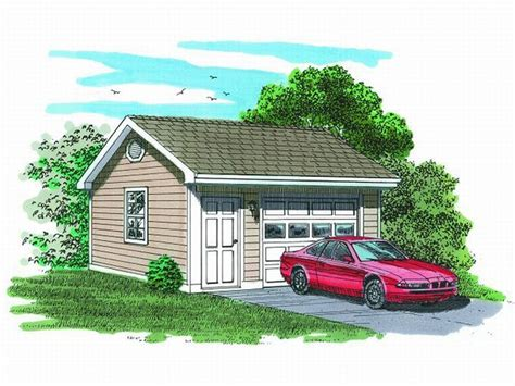 one car garage 1 car garage plans detached one car garage plan 033g