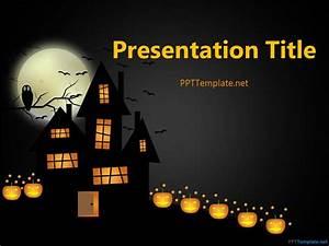 Free halloween frankenstein ppt template for Halloween powerpoint templates
