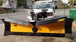 New 9 5 U0026 39  Xv2 Steel Fisher V Plow Snow Plow Flared Wings
