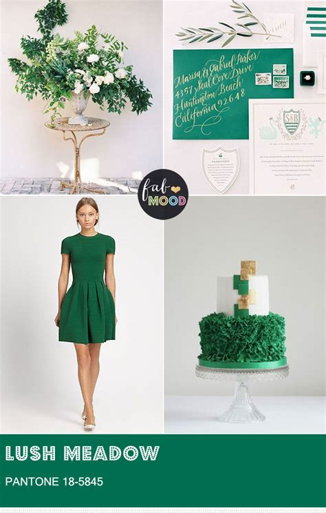 meadow green color pantone lush meadow green wedding pantone color for fall