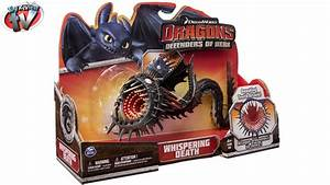 Dragons Defenders Of Berk: Whispering Death Figure Toy ...