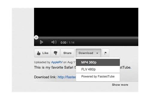 safari plugins for youtube downloader