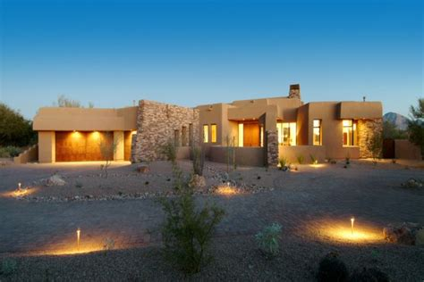 tremendous southwestern exterior designs  desert residences