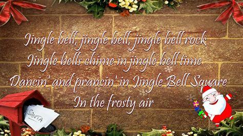 jingle bell rock lyrics youtube