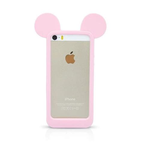 bumper for iphone 5 coque mickey ears iphone 5 5s oreille bumper etui sur