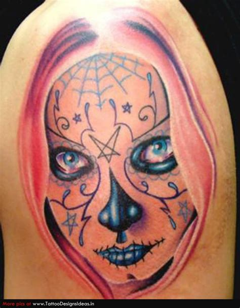 Day The Dead Girl Tattoo