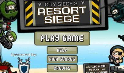 city siege 6 city siege 2 resort siege il gioco